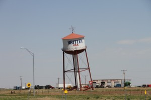 What the heck is with this water tower?!